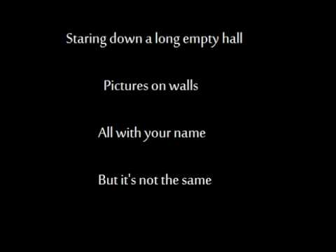 Savatage - if i go away lyrics