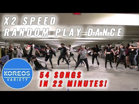 2X Speed Random Play Dance challenge: 54 songs in 22 minutes!