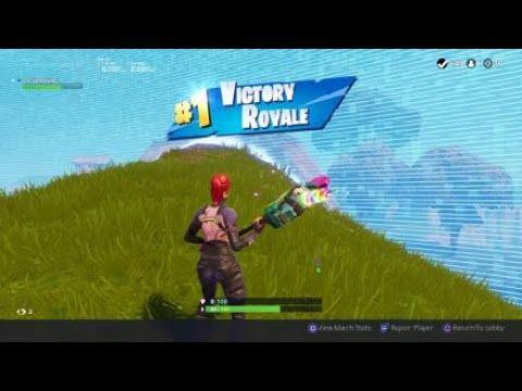 Fortnite-10 Kill Solo With Rainbow Smash Pickaxe!!!
