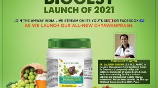 BIGGEST LAUNCH: Chyawanprash by Amway Nutrilite – English