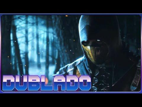 Mortal Kombat X - Trailer Scorpion vs Sub Zero - (DUBLADO PT-BR)