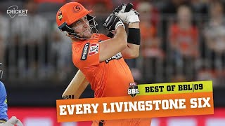 'Into the stands!' All of Liam Livingstone's maximums   KFC BBL 09