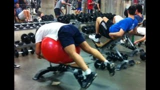 STUPID PEOPLE IN GYM | Workout Fail Compilation Pt.2