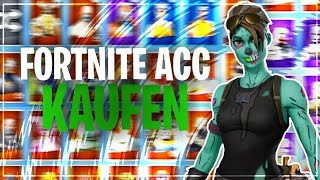 I buy a RANDOM account and get... Fortnite RARE SKINS