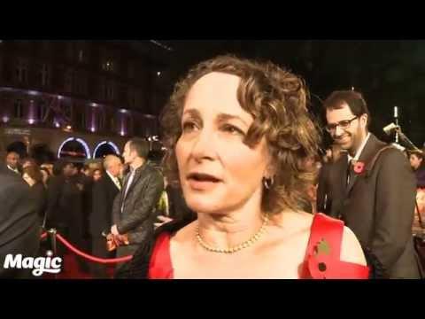 Nina Jacobson at The Hunger Games Mockingjay: Part 2 premiere