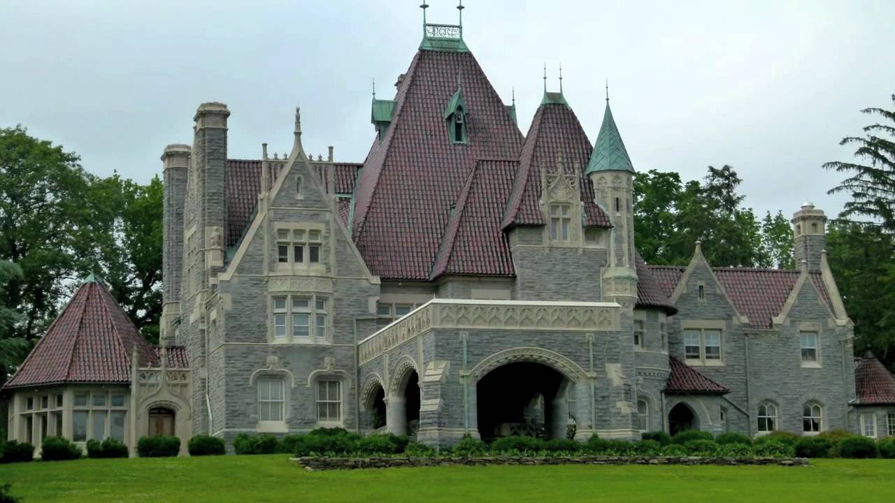 An american castle woodmont the alan wood jr estate for Castle style homes for sale