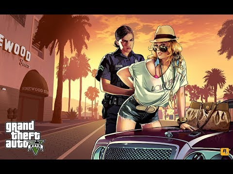 Grand Theft Auto V.СТРЕЛЯЛКИ,ГРАБИЛКИ УБИВАЛКИ)))ГТА5 thumbnail
