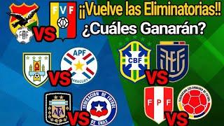 Fecha 7. Análisis y Predicción • Eliminatorias Sudamericanas rumbo a Qatar 2022