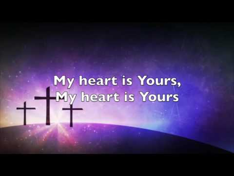 Passion with Kristian Stanfill - My Heart Is Yours - Accompaniment & Lyrical Video