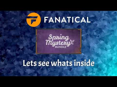 Fanatical Spring Mystery Bundle...Opening 5x Bundles 50 Games In Total