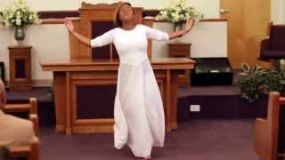 "Praise Dance to ""Indescribable"" by Keiara Sheer"
