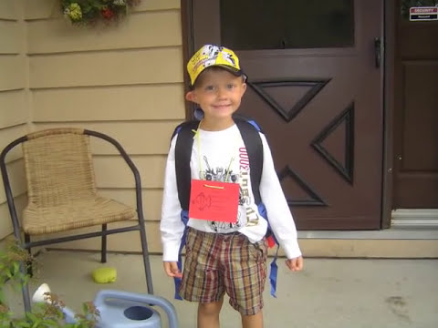 Download Jack's First Day of Kindergarden
