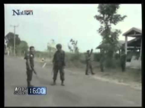 ปะทะระอุไทย-เขมร