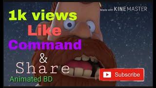 -Animación 3d,a corto flim video ,,,,2019. Animados por BD