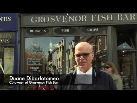 Grosvenor Fish Bar In Norwich Got The Tourism Award.