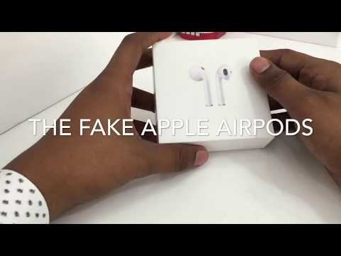 Fake Apple AirPods In Dubai Market.Be careful Guys!!! 2017