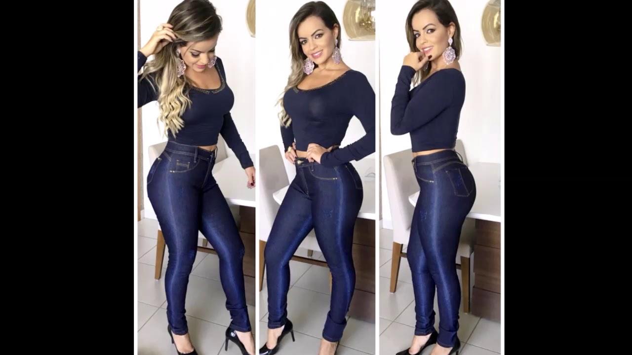2416a9c4e Calça Jeans Feminina Atacado Fornecedor Direto No Mercado Livre Médio