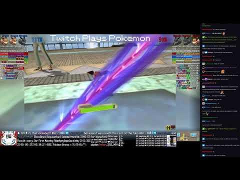 Twitch Plays Pokémon Battle Revolution - Matches #117777 and #117778