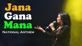 Neha Kakkar | National Anthem | Jana Gana Mana Adhinayaka Jaya Hai | National Anthem with Lyrics