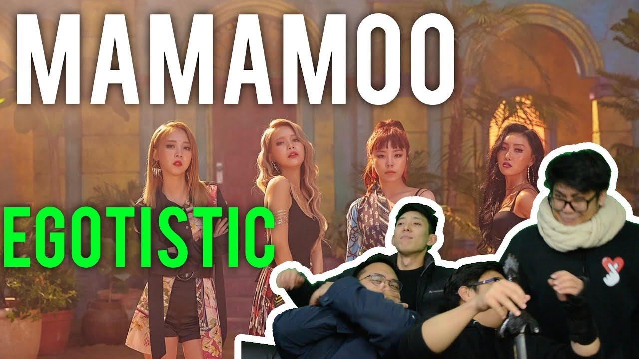 MAMAMOO(마마무) _ Egotistic(너나 해) MV REACTION
