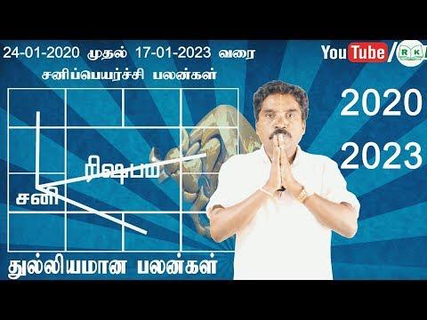 2020-2023  | Sani Peyarchi Taurus Zodiac Benefits | RK Astrologer