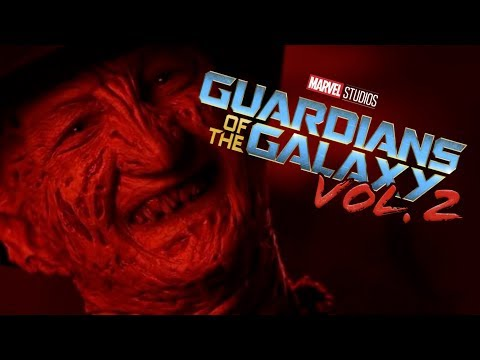 Freddy Vs Jason Fight Guardians of the galaxy 2 opening style