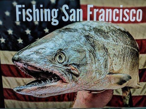Salmon Fishing North Of San Francisco