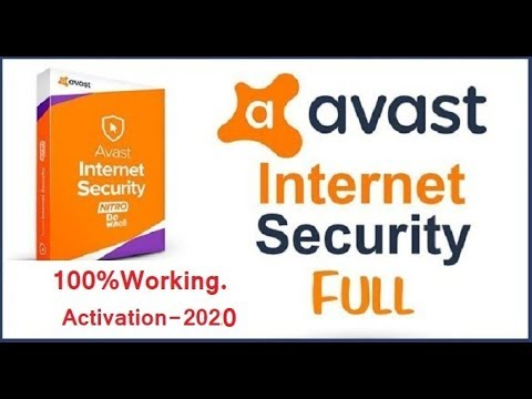 Avast internet security 2019 license key Till 2020 ️ ...