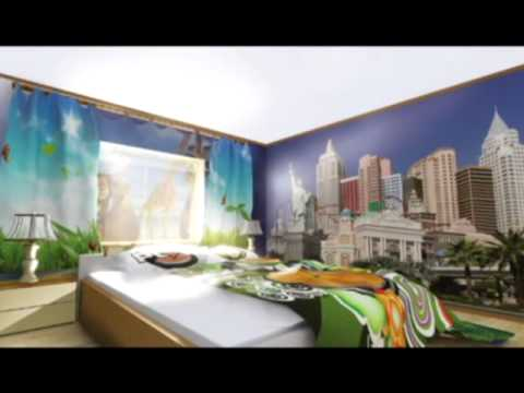 Фотообои - прекрасное решение для отделки стен.
