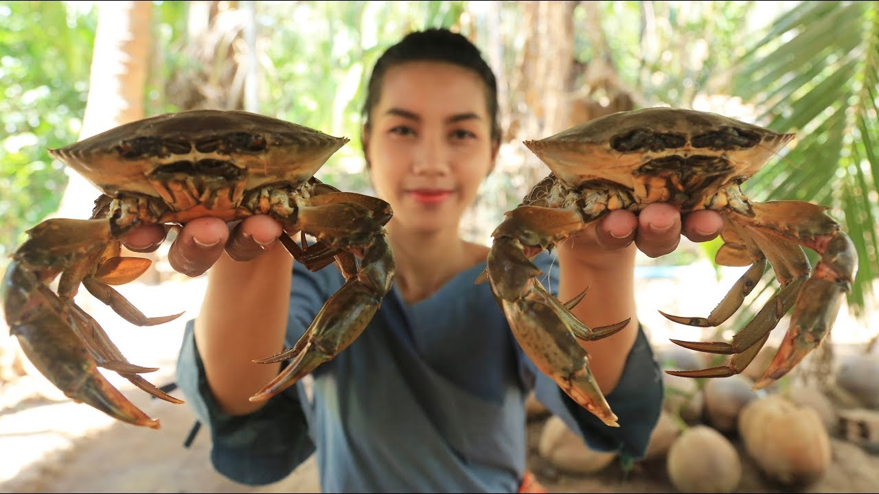 Yummy cooking crab with green pepper recipe - Cooking skill