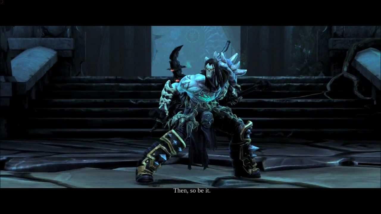 Darksiders II PC- Ending BOSS FIGHT: DEATH vs ABSALOM ...