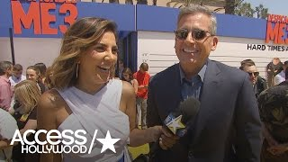 Steve Carell On 'Despicable Me 3': 'This Is Exciting' | Access Hollywood