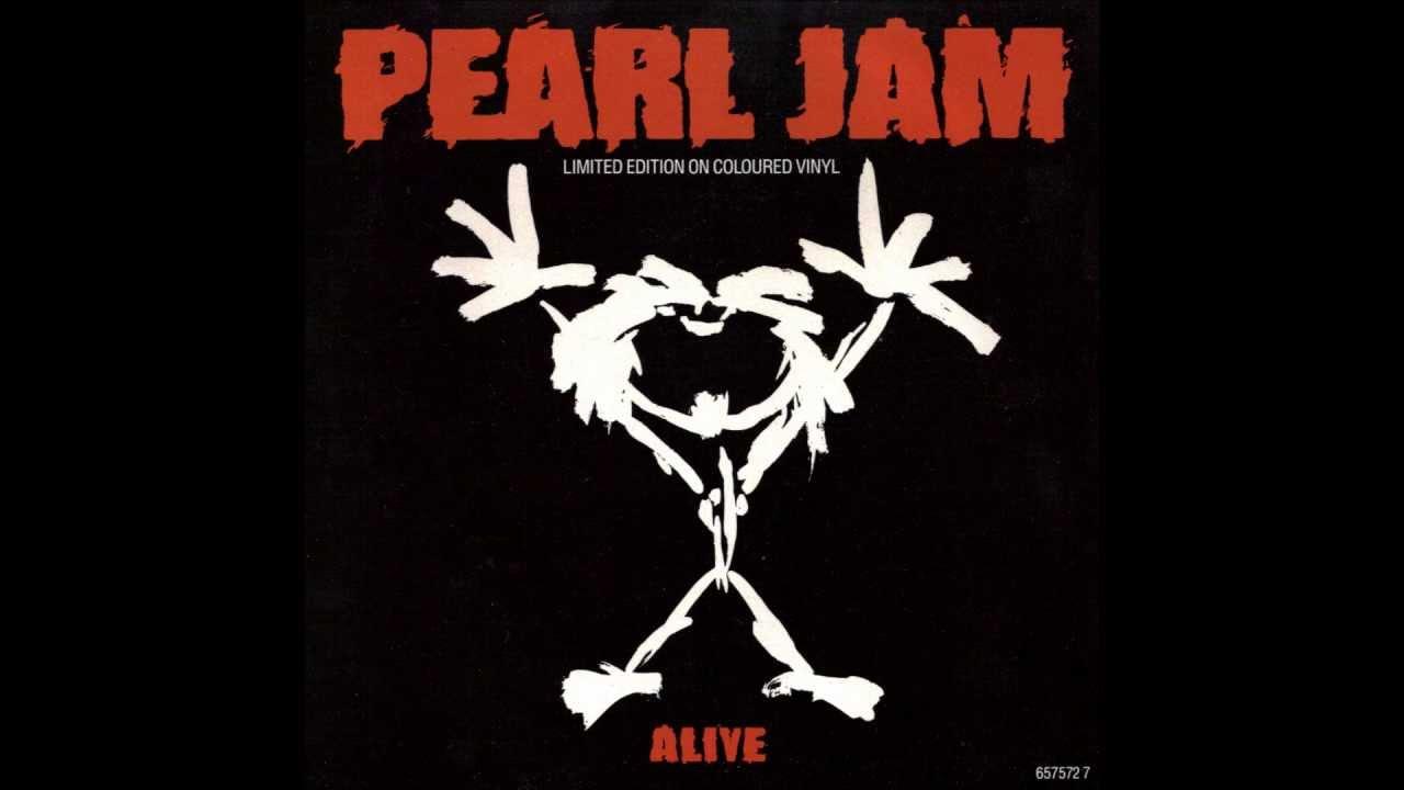 pearl jam alive  eb tuning  youtube Black Sabbath Logo pearl jam logo font