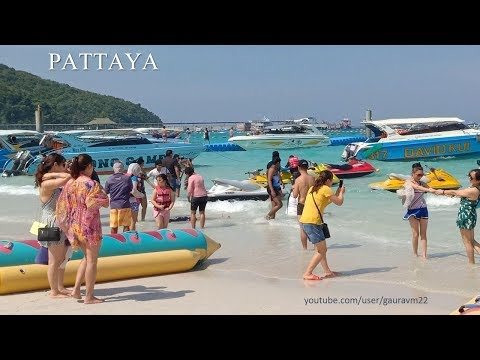 Pattaya coral island coral beach [Koh Lan] bangkok