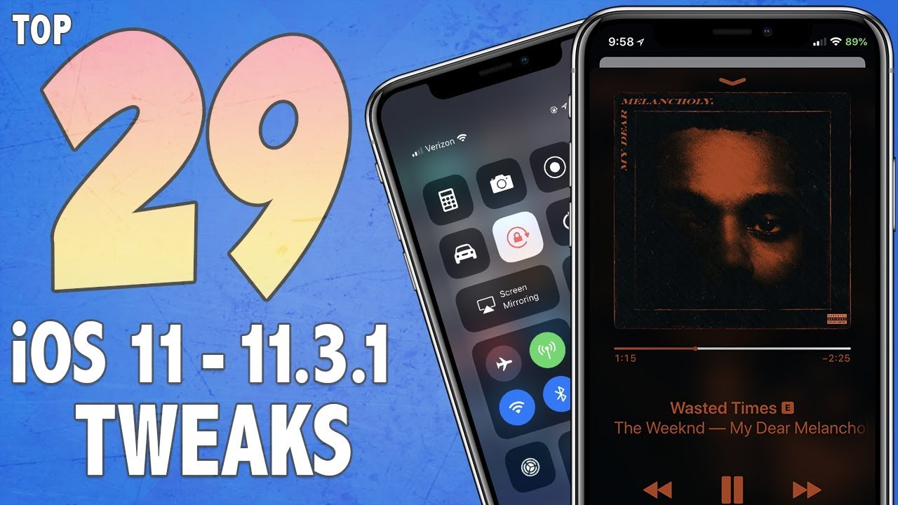 Tweaks Para Iphone 6s Con Jailbreak
