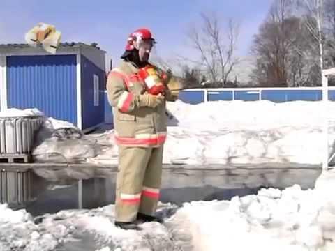 Устройство огнетушителя (принцип работы)