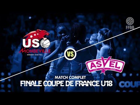 [MATCH COMPLET] Finale U18 féminines 2019 | USO Mondeville - FC Lyon ASVEL féminin