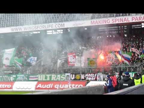 RB Salzburg 3:3 Rapid Wien 24.02.2013 Support