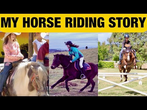 MY HORSE RIDING STORY!
