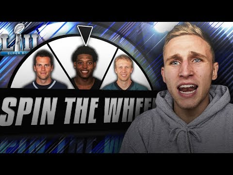 SPIN THE WHEEL OF NFL PLAYOFFS TEAMS! Madden 18