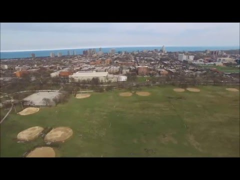 Washington Park, Chicago, Illinois on 3-18-16 Phantom Drone Photography