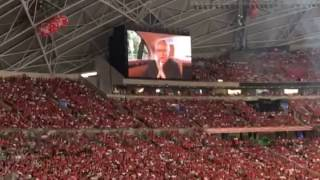 Video call from President Tony Tan at NDP 2016