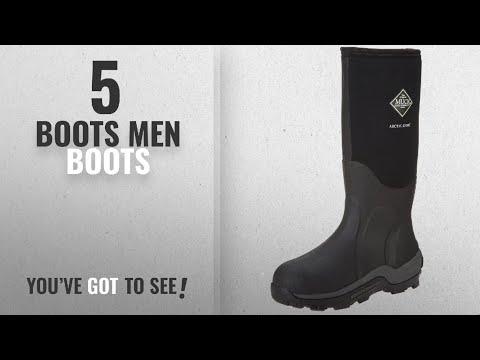 Top 10 Boots Men Boots [ Winter 2018 ]: The Original MuckBoots Adult Arctic Sport Boot,Black,10 M US