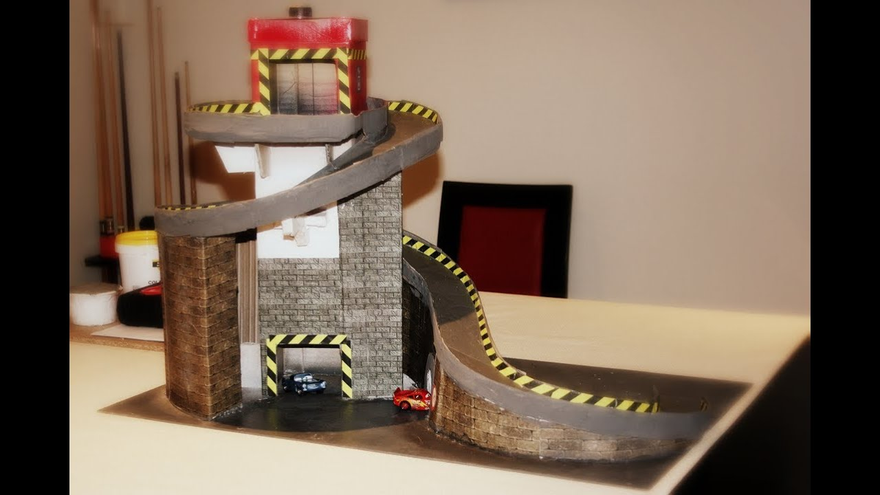 Hot wheels track made from cardboard youtube for House of tracks