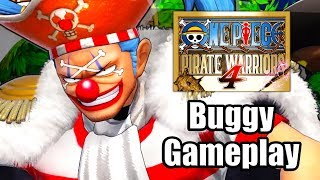One Piece: Pirate Warriors 4 (2020) - Buggy Gameplay [PS4 Pro]