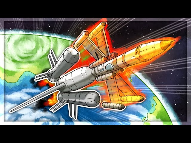 I Built A Rocket Propelled X-WING in Kerbal Space Program