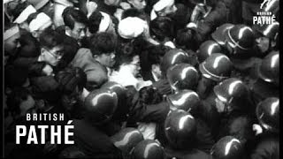 News Flashes - Tokyo Stock Exchange Riots (1954)