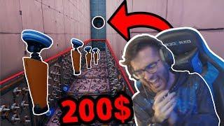 فورت نايت : لما تلعب ماب مع اينشتاين السعودية😂💔 خلص الماب ولك 200 دولااار !!💰 | Fortnite
