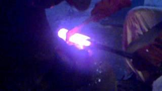 Katana Making, Folding Steel (oroshigane)