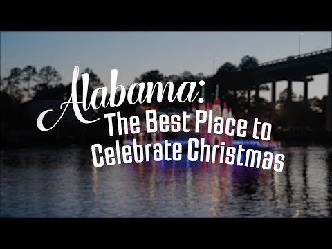 Alabama: The Best Place to Celebrate Christmas